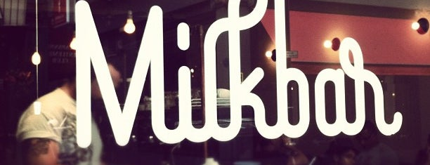 Milkbar is one of World Coffee Places.