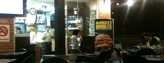 McDonald's is one of restaurant.