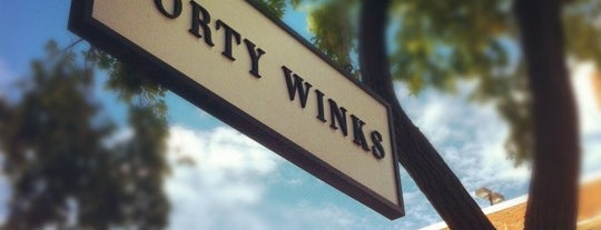 Forty winks is one of stores that stock Between the Sheets.
