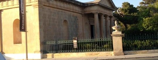 Domus Romana is one of Malta Cultural Spots.