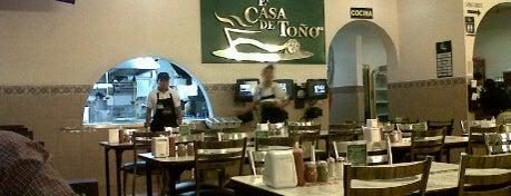 La Casa de Toño is one of Pa' comer!.