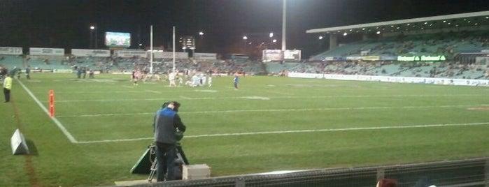 Parramatta Stadium is one of Essential Sydney.