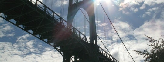 St. Johns Bridge is one of Portland City Badge - Bridgetown.