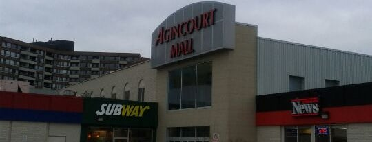 Agincourt Mall is one of Shopping malls of the Greater Toronto Area (GTA).