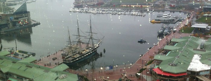 Inner Harbor is one of Baltimore City Badge - Charm City.