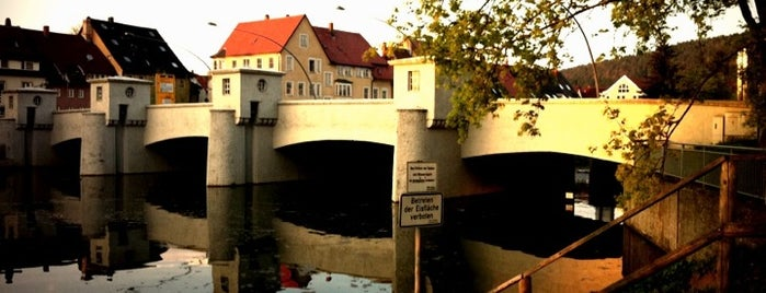 Donaubrücke Groß' Bruck is one of Tuttlinger Stadtrundgang.