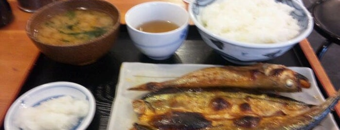 めし屋 奈良間 is one of 月島もんじゃレス.