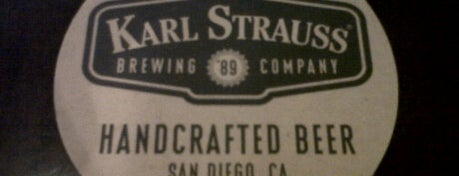 Karl Strauss Brewery & Restaurant is one of San Diego Brewery and Beer Pubs.