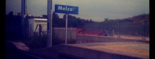 Stazione Melzo is one of Linee S e Passante Ferroviario di Milano.