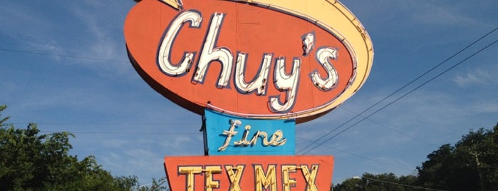 Chuy's is one of Great Spots for Cyclists in Austin.