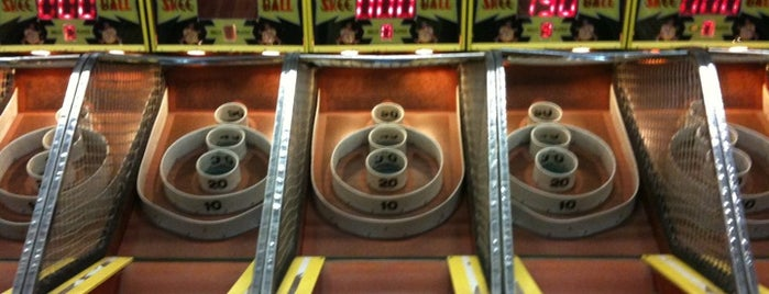 Leonelli's Playland Arcade is one of Guide to Lake George's best spots.