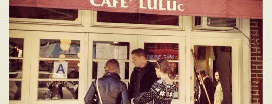 Cafe Luluc is one of Brooklyn.