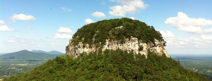 Pilot Mountain State Park is one of North Carolina.