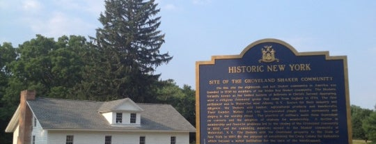 Groveland Shaker Community is one of Sacred Sites in Upstate NY.