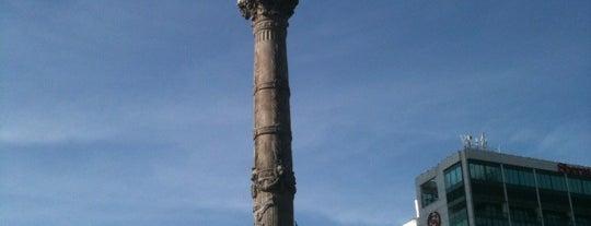 Monumento a la Independencia is one of Ciudad de México, Mexico City on #4sqCities.