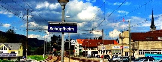 Bahnhof Schüpfheim is one of Bahnhöfe Top 200 Schweiz.