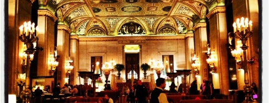 Palmer House Hilton is one of favorites.
