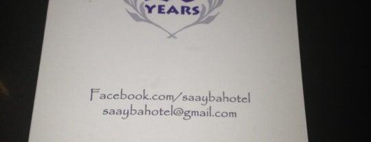 Saayba Hotel is one of Recos.