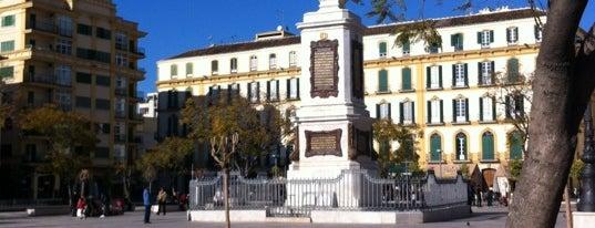 Plaza de la Merced is one of 101 cosas que ver en Andalucía antes de morir.