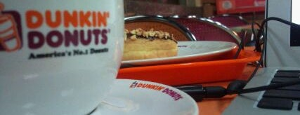 Dunkin' Donuts is one of 20 favorite restaurants.