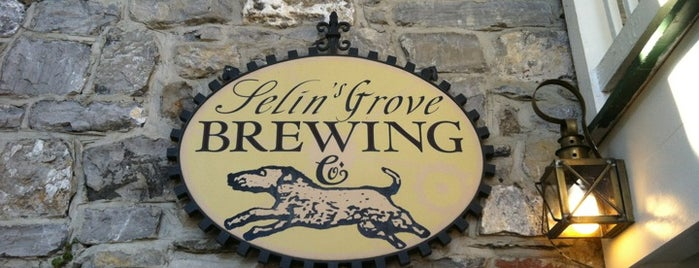 Selin's Grove Brewing Co. is one of Breweries and Brewpubs.