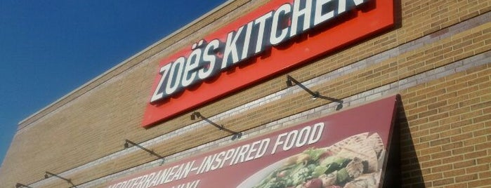 Zoës Kitchen is one of Favorite Food.
