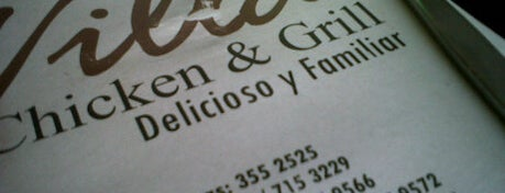 Villa Chicken & Grill is one of Restaurantes Imperdibles.