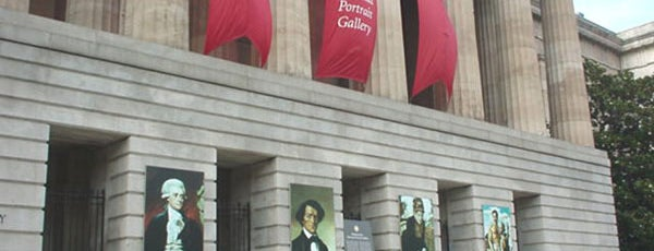 National Portrait Gallery is one of DC To Do - Activities.