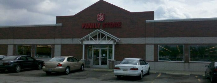 Salvation Army Family Store is one of Top Ten Thrift Stores in Cleveland and NE Ohio.