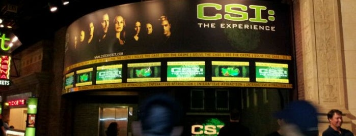 CSI: The Experience is one of Performing Arts Venue.