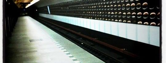 Metro =B= Náměstí Republiky is one of Metro B.