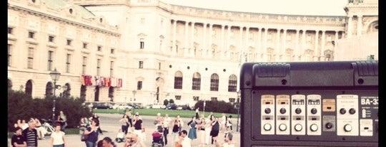 Heldenplatz is one of Vienna tips.