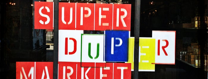 SUPER(DUPER)MARKET is one of Ilove frined and bayby.