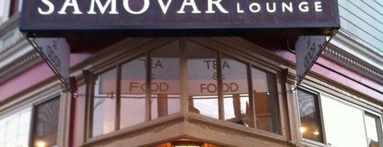 Samovar Tea Lounge is one of To Do: San Francisco.