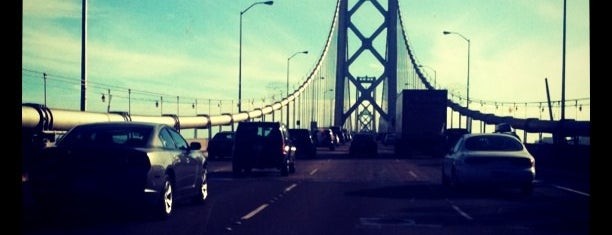 San Francisco-Oakland Bay Bridge is one of San Fran!.