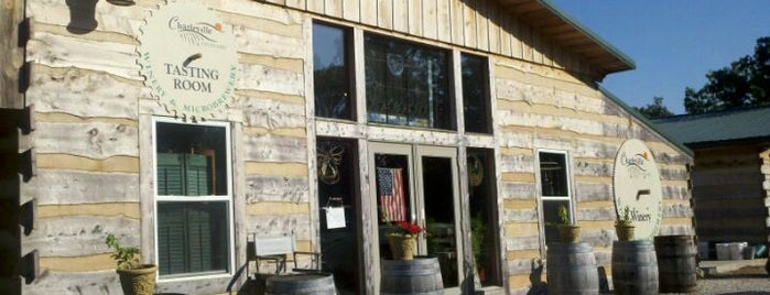 Charleville Vineyard & Brewery is one of St. Louis brewpubs.