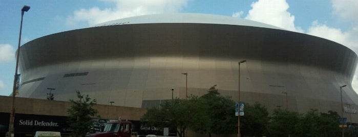 Mercedes-Benz Superdome is one of Badges | Partners type.