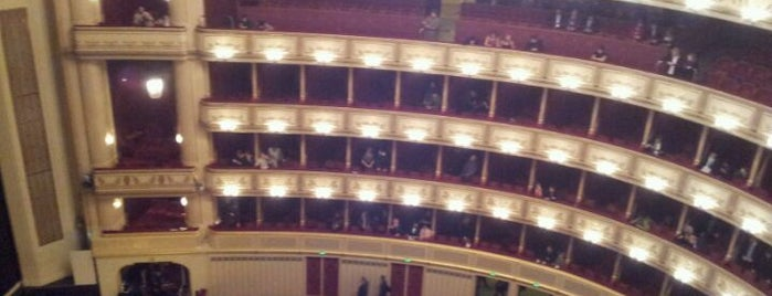 Wiener Staatsoper is one of Vienna City Badge - Blue Danube.