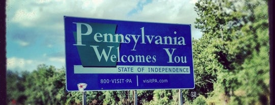 New Jersey Pennsylvania State Line is one of Travel..