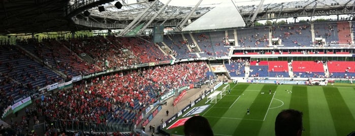 HDI Arena is one of Stadiums.