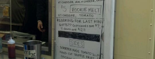 Roxy's Grilled Cheese is one of Food Trucks in Boston.