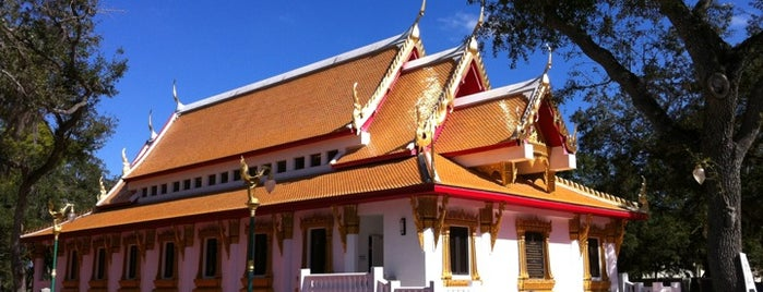 Wat Mongkolratanaram Buddhist Temple is one of Favorite Tampa Bay Area Places.