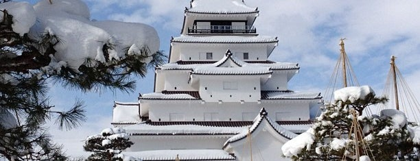 Tsuruga Castle is one of 行った所&行きたい所&行く所.