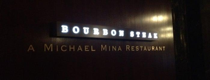 Bourbon Steak is one of I spy with my 4sq eye.