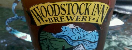 Woodstock Inn Station & Brewery is one of New England Breweries.
