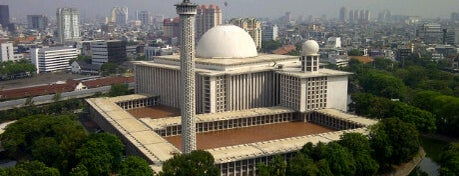 Masjid Istiqlal is one of Enjoy Jakarta 2012 #4sqCities.