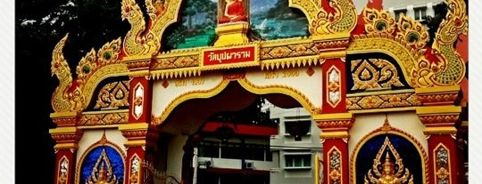 Wat Buppharam Buddhist Temple is one of Top 10 favorites places in Pulau Pinang, Malaysia.