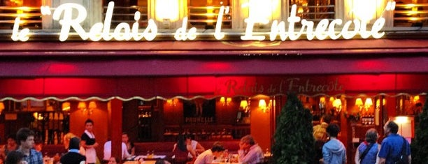 Le Relais de l'Entrecôte is one of Lloyd's Paris.