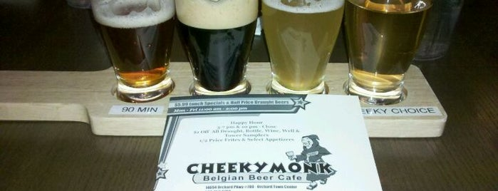 Cheeky Monk is one of Westminster, Colorado drinking places.