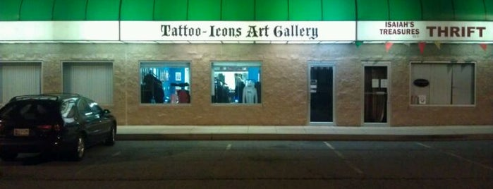 Tattoo Icons Art Gallery is one of Art, Books, Music, And More.